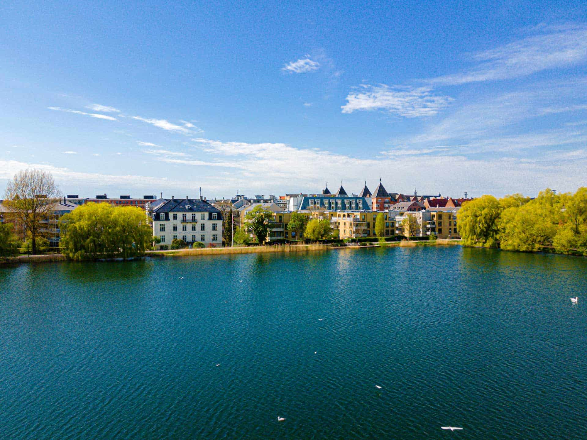 Sø i København om sommeren
