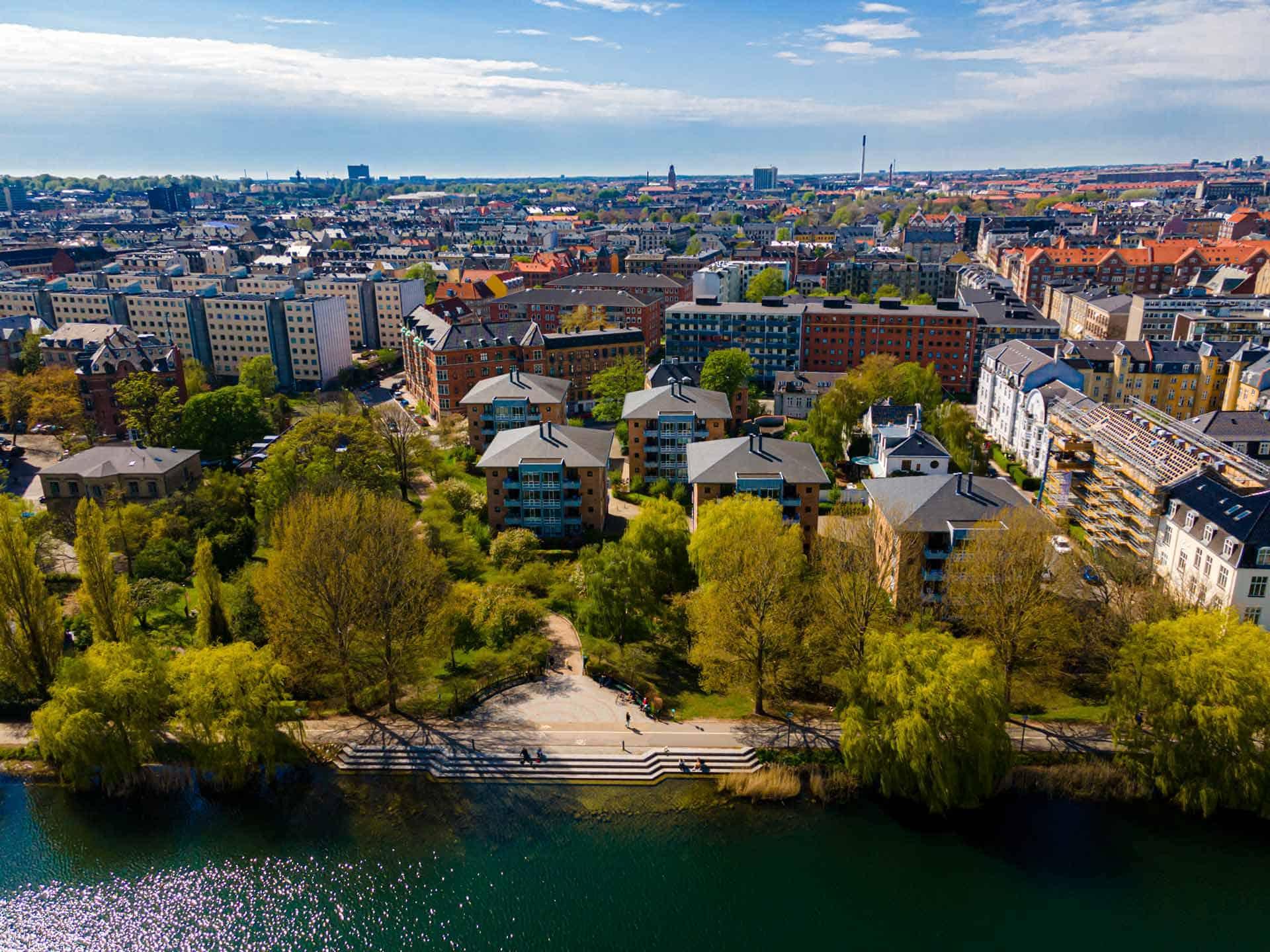 København set fra fugleperspektiv